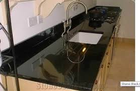 black granite table top shanxi black granite kitchen countertops nice black granite