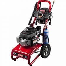 crafstman craftsman 020579 2800psi 2 3 gpm gas powered pressure washer
