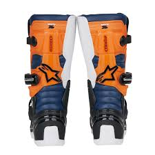 kids motocross boots alpinestars kids mx boots tech 7s black orange white 2018 maciag
