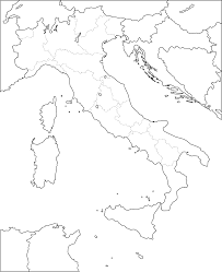 Blank Maharashtra Map by Atlas Blank Map Of Italy