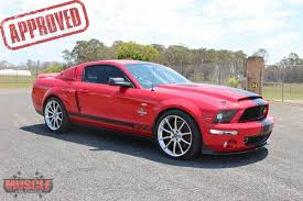 2007 ford mustang shelby gt500 supersnake muscle car stables