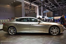 custom maserati sedan first maserati quattroporte zegna debuts at geneva live photos
