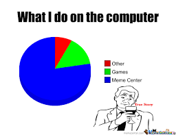 Computer Meme - what i do on the computer by henry h christ meme center
