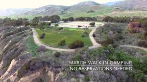 Carpinteria State Beach Campground Map by El Capitan State Beach Youtube