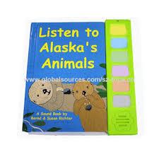 Children Sound Book Book Custom Book Printing China Professional Printing Custom Color Cheap Spiral Children