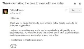 how to write a great follow up email after a meeting mindmaven