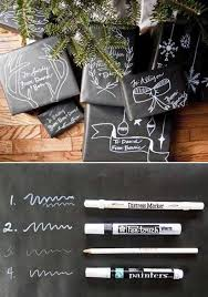 chalkboard wrapping paper gift wrapping ideas printable gift tags the idea room
