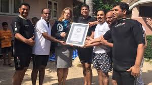 indian group makes it to guinness book of world records for