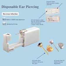sterilized ear piercing studs online shop 24pcs box no ear piercing kit disposable easier