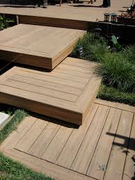 doggie stairs in deck contemporary with step down deck next to