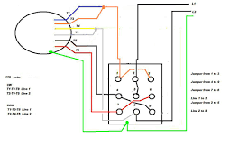 single phase motor connections diagrams with capacitor wiring