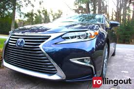 lexus suv es what we learned while driving the lexus es 300h rolling out