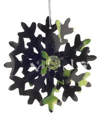 energy drink snowflake personalized ornament