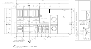 likable detailed elevation of traditional kitchen featuring kitchen drawings plan inspirations awesome corey klassen interior design elevation on architecture category with post kitchen
