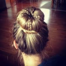 howtododoughnut plait in hair 69 best hairstyles images on pinterest braids bridal hairstyles