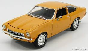 chevy vega ertl 33422 scale 1 18 chevrolet chevy vega coupe 1972 yellow