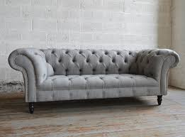 The Romford Wool Chesterfield Sofa Is Based On A Classic - Chesterfield sofa design
