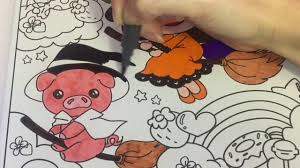 coloring time episode 16 happy halloween kawaii coloring page