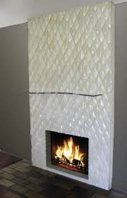 interior design glass tile fireplace curioushouse org