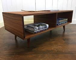 Low Modern Coffee Table Thin Man Mid Century Modern Coffee Table With Storage