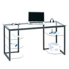 bureau en verre tremp noir bureau en verre trempac noir bureau verre trempe en trempac avec