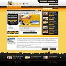 web page design web page design contests swarmjam website facelift page 1