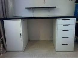 bureau ikea plateau verre bureau sur mesure ikea simple meuble de rangement de bureau pour