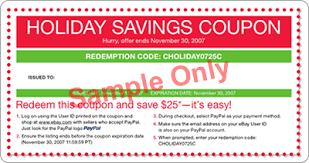 holiday coupon ebay redeeming coupons terms and conditions