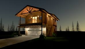 Log House Plans Springbrook Log Home Custom Timber Log Homes