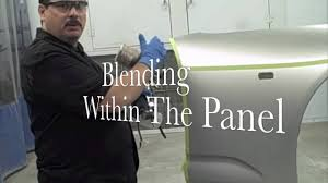diy how to blend car paint to match metallic or pearl color
