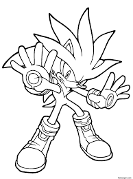 sonic the werehog coloring pages 1000 images about sonic on
