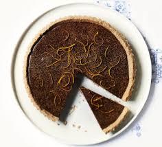 chocolate orange tart recipe food