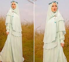 tutorial hijab syar i untuk pernikahan model hijab lyra virna terbaru berhijab id