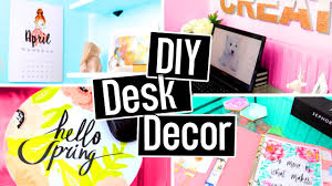 Diy Desk Decor Diy Desk Decorations For Summer Diy Room Decor Cheap