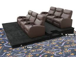 Most Comfortable Stadium Seat Diy Stadium Seating For The Home Theater Room Home Theater
