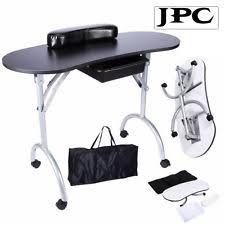 Nail Tech Desk by Beauty Salon Manicure Technician Table Nail Station With Extractor