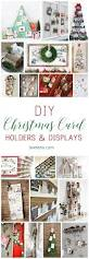 diy christmas card holder and display ideas chicken wire frame