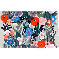 marimekko kasvu multicolor fabric marimekko cotton fabrics