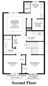 Townhome Floor Plan Designs Lakeshore Townhomes The Dante Home Design