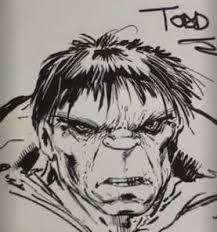 todd mcfarlane draws hulk video