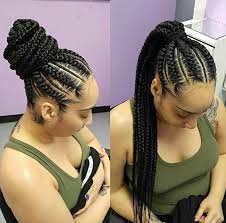 hair braided into pony tail gallery weave braid into ponytail hairstyles black hairstle