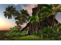 second life marketplace tropical cave copy mod 30x30m 25prims