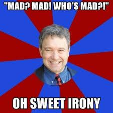 Teacher Meme Generator - mad mad who s mad oh sweet irony eccentric english teacher