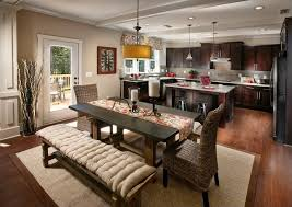 Craftsman Dining Room With Pendant Light  French Doors Zillow - Dining room with french doors