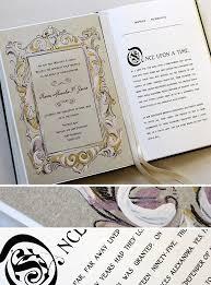 Fairytale Wedding Invitations Best 25 Book Wedding Invitations Ideas On Pinterest Disney