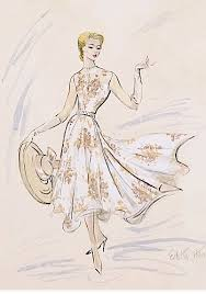 the sketch artist 18 classic film costume designs by edith head