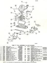 corvette part numbers 1982 corvette exploded views of 1982 cross injection unit