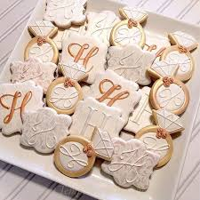 bridal brunch favors bridal shower cookies for the future mrs hill in white