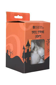Halloween Skull Lights by Halloween Skull String Lights Mountain Warehouse Gb