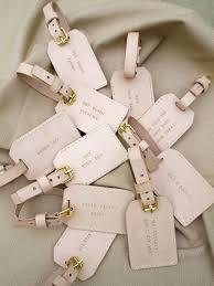 wedding luggage tags best 25 luggage tags wedding ideas on wedding